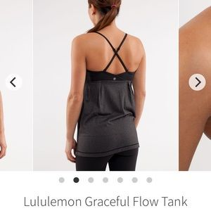 "Lululemon ""Graceful flow tank"""